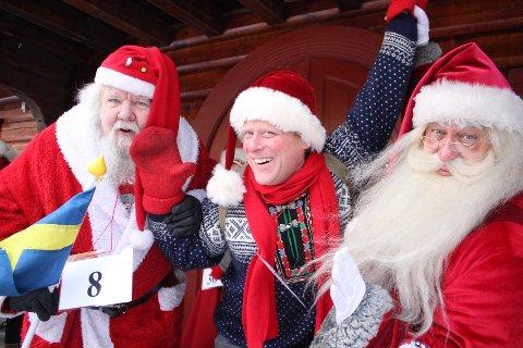 SUKSESS I DEBUTEN: Lars Erik Eckholdt slo til med gull i Winter Wonderland på Savalen i Tynset.