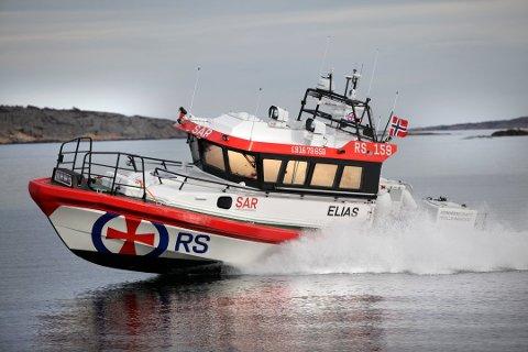 UDRAMATISK: Redningsskøyta Elias har hjulpet båtførere med mindre hendelser denne helgen.