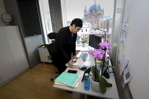 Anne Bramo rydder kontoret etter halvannet år som statssekretær i Helse- og omsorgsdepartementet.