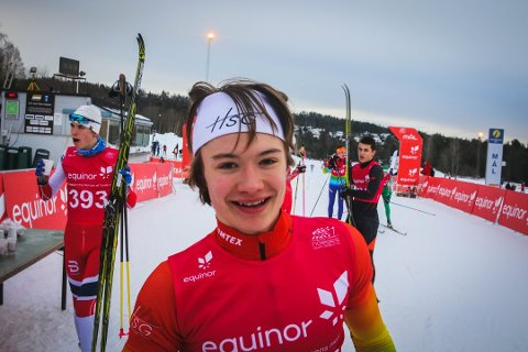 DEBUTERER INTERNASJONALT: Johannes Lønnestad Flaaten er tatt ut til Nordisk juniorlandskamp i Falun.