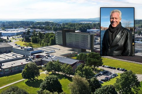 HAR TRUA: Eiendomsinvestor Petter Øygarden i Bratsberg AS vil bygge et byhotell på Høyda i Moss. Nå venter han bare på et ja fra Choice-kjeden.