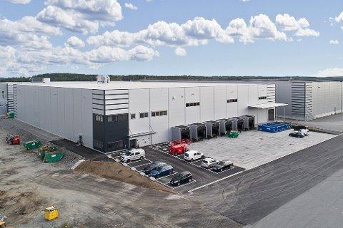 UTVIDER: Elektroimportøren skal øke lagerkapasiteten i Vestby med nye 6 000 kvadratmeter.