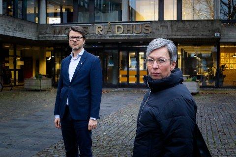 FRYKT: Ordfører i Moss, Hanne Tollerud, tror at mange nå er redde. Selv blir hun kontaktet av mange mossinger som tilsynelatende har mistet håpet om at koronapandemien skal ha en ende.