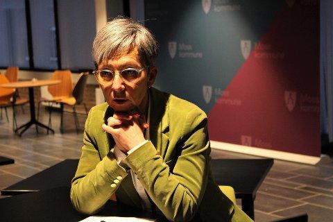 KLAR: Moss er ikke blant de sju kommunene på Østlandet som får vaksinen først, men mosseordfører Hanne  stoler på vurderingen og sier vaksinen snart vil være tilgjengelig for mossinger også.