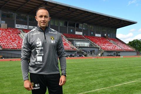 FERDIG I MOSS FK: Hovedtrener Marijo Jovic.