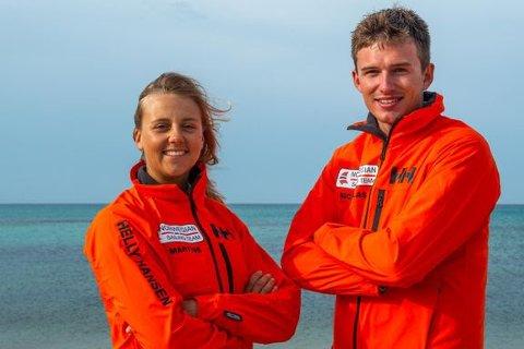 VM: Martine Steller Mortensen og Nicholas Fadler Martinsen deltar i VM i Melbourne som starter 10. februar.