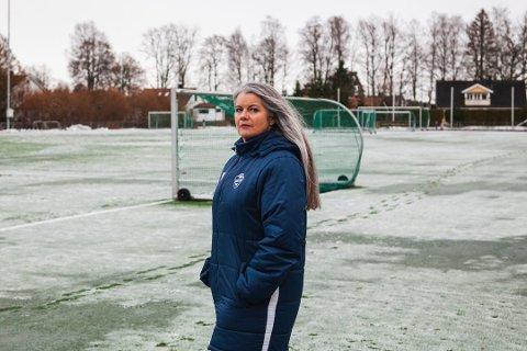 KORONA-KRISE: Sprint-Jeløy er en av klubbene som kan bli hardt rammet av dagens situasjon. Her ved daglig leder Therese Solhaug.