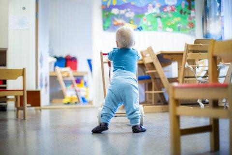 Fremover: – Barnehagens verdi er virkelig blitt synliggjort disse dagene; for barna, for foreldrene og for samfunnet. Det må vi verdsette nå, i ukene som kommer og i all framtid, skriver Undervisningsforbundets Marit Skei Andersen. foto: scanpix