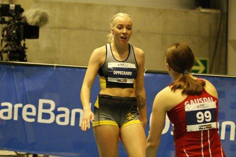 Linn Oppegaard fra Moss IL er medaljekandidat i NM.