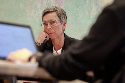 BEKYMRET FOR INFORMASJONSFLYTEN: Ordfører Hanne Tollerud.