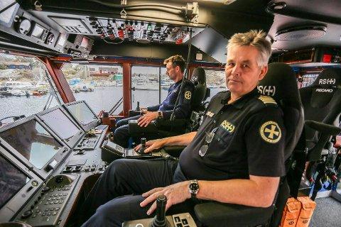 FOR SNILT: Pensjonert skipper på Horn Rescue, Pål Bustgaard, mener det bør strengere krav til for å få lov til å ferdes på sjøen.