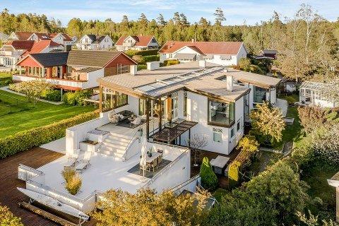 SOLGT: Denne luksusboligen gikk for 13,5 millioner kroner.