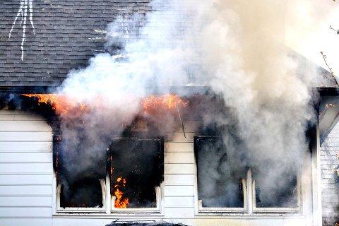 REDDE: Når nordmenn er hjemme, er det brann de er mest redde for viser en ny undersøkelse.
