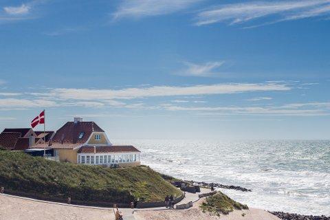 STORSLÅTT: Kunne du bedt om en bedre utsikt? Her fra Villa Vest på vestkysten av Jylland.