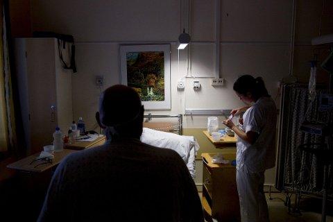 ÅPNER FOR BESØK: Moss kommune åpner for besøk på sykehjem, omsorgsboliger og helsehus.