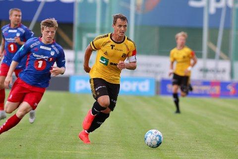KLARE: Thomas Klaussen og resten av MFK-mannskapet er klare for første runde i cupen.