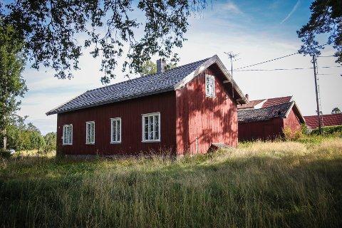 """""""Snippen"""", tilhører Evje herregård, Dilling. Ligger på østsiden av Larkollveien"""