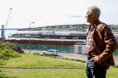 VILLE IKKE FORHASTE SEG: Arild Svenson (Ny Kurs) er spent på hva rapportene som snart offentliggjøres sier om jernbaneframføringen fra Kransen mot Kleberget.