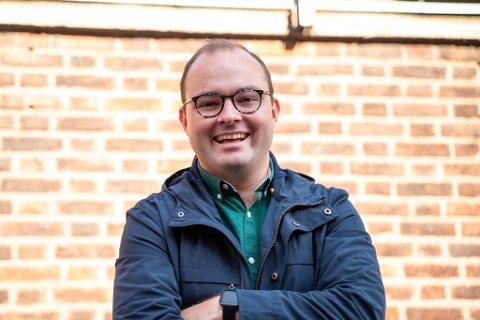 FORNYET TILLIT: Sindre Lysø (24) fra Moss er innstilt som generalsekretær i AUF, og ligger dermed an til å bli den første som blir gjenvalgt i vervet siden 2000.