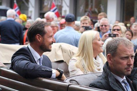 BESØK: Kronprinsparet besøker Moss og Våler onsdag 29. september.