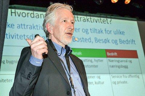 FÅ JOBBER: Stadig flere velger å flytte til Moss, men jobbene er det dårligere med, konstaterer Knut Vareide i Telemarksforskning.