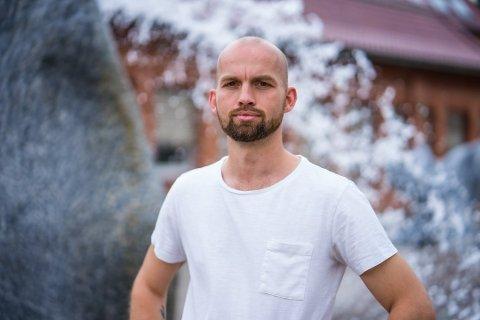 Klaus Lintho, leder i LO i Sarpsborg og Rakkestad forteller om sine egne opplevelser med vold på arbeidsplassen.