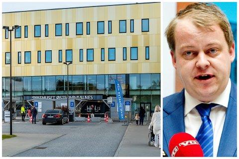 VIL HA RASK START: Stortingsrepresentant Erlend Wiborg (Frp) krever at utbyggingen av Kalnes tas på største alvor.