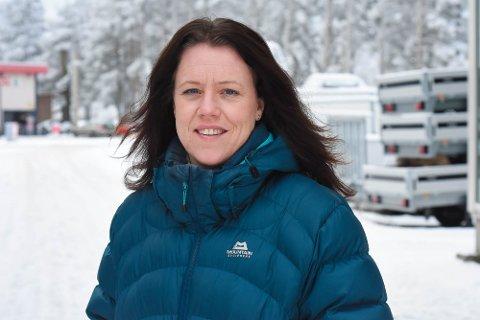 AKTIV: Line Ørving Eriksen har som oftest en stappfull timeplan.