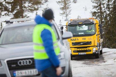 KULDEPROBLEMER: Året har startet særdeles kaldt i store deler av landet, også i Moss. Kuldegradene har stor innvirkning på bilen.