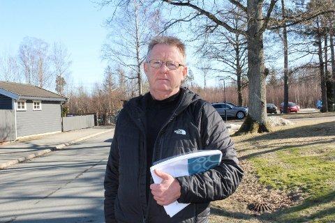 BLE HØRT: Nestleder Bjørn Boge i Pårørendeaksjonen Moss er glad for at politikerne i helse og mestring ville høre deres meninger om forslaget til pårørendestrategi.