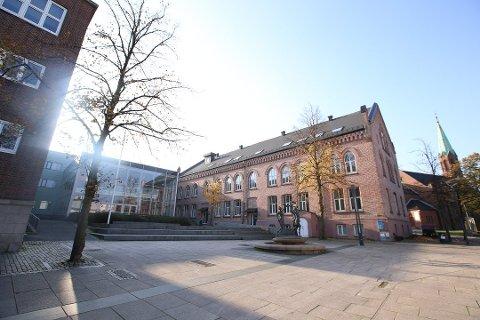 RØDT NIVÅ: De videregående skolene i Moss er på rødt nivå fram til søndag 25. april.