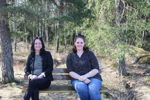 GRÜNDERE: Wenche Sende (t.v.) og Charlotte Nerheim Linkas har startet frivillighetstjeneste. Drivkraften er at de vil glede barn i mossedistriktet.