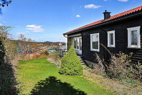 UTSIKT: Det er nok utsikten og beliggenheten som dro boligprisen opp.