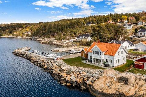 SOLGT ETTER KORT TID: Denne villaen i Hvitsten på over 200 kvadratmeter ble solgt etter kort tid denne uken.