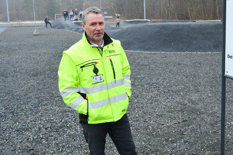 BOLIGSOSIAL PLAN: Bengt Olimb, daglig leder i Moss Kommunale Eiendomsselskap (MKEiendom), forteller at kommunen har startet arbeidet med å utarbeide en plan hvor de skal se på boligbehovet i Moss fram mot år 2050.