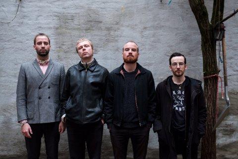 ROCK: Dag Markhus, Johannes Fjeldstad, Lars Anfrido Emmelthun og Stian Gulbrandsen er alle medlemmer i bandet Fangst.