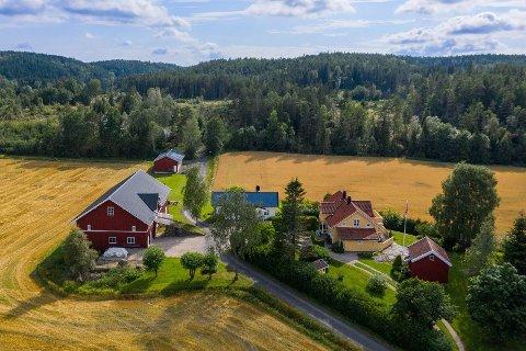 Gården er på 1616,6 dekar og består blant annet av våningshus, låve, stabbur og Åsen Husmannsplass.