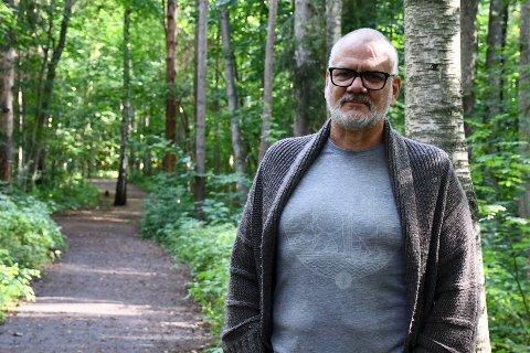 SPENT: «Uten filter»-produsent Anders Graham håper mossinger hiver seg rundt og stemmer.