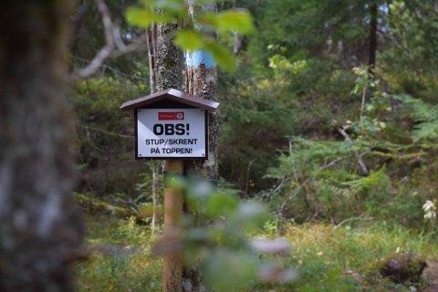 OBS!: Flere av destinasjonene som anbefales har svært god utsikt.