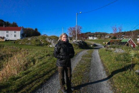 GJERDINGA: Tone Sofie har alltid hatt en lengsel til Gjerdinga, både på grunn av røttene sine, men også nærheten til naturen.