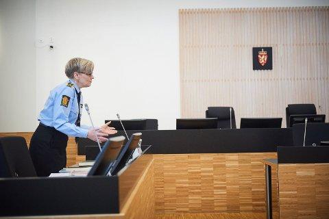TOK KONTAKT: Påtaleansvarlig og politiadvokat Trude Skogen i Trøndelag politidistrikt sier at etterforskninga kom i gang etter at én av de fornærmede tok kontakt med politiet.