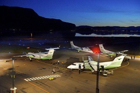 FLYTILBUD FORSVINNER: Direkteruta mellom Namsos/Rørvik og Oslo er lagt ned på permanent basis. Det eneste som kan få Widerøe til å starte flygingene igjen, er endrede rammebetingelser som gjør drifta mer økonomisk lønnsom.