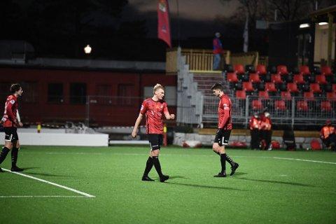 TIDLIG JULEFERIE: Sondre Klingen Langås pådro seg et kragebeinsbrudd under treninga til Stjørdals-Blink mandag kveld og er nå ute av spill resten av sesongen. Kanskje har 19-åringen spilt sin siste kamp for stjørdals-laget.