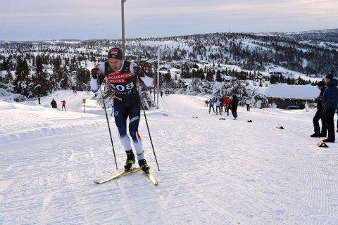 SIKTER HØYT: Ole Jørgen Bruvoll håper på å blande seg inn blant de beste i helgas sesongåpning på Beitostølen.