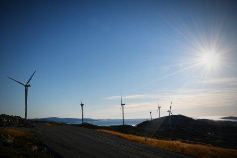 NYE SØKNAD OM FRISTFORLENGELSE: Hvis NTE Energi AS får det som de vil, vil det komme opp nye vindturbiner på Husfjellet på Garstad innen utgangen av 2021. – Turbinstørrelsen blir tilpasset fjellet, forteller direktør Kenneth Brandsås.