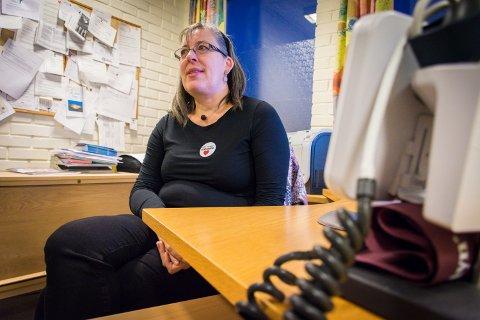 HAR EN PLAN: Kommuneoverlege i Nærøysund, Sabine Moshövel, forteller at planene for massevaksinering av befolkninga er klare.