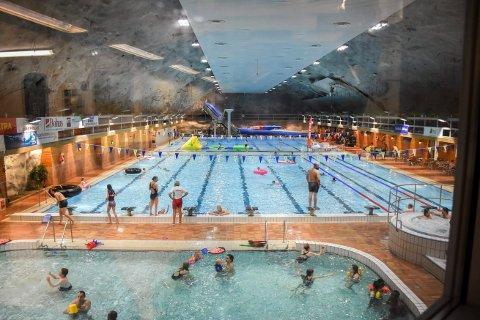 ÅPNER: Nå er  det igjen muligheten for et bad i Oasen svømmeanlegg i Namsos, etter at Statsminister Erna Solberg informerte denne uka om nye nasjonale tiltak.