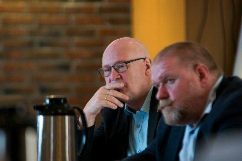 LITE PENGER: Gruppeleder i Trøndelag Sp, Steinar Aspli, er ikke imponert over bevilgningene til vegprosjekter i Namdalen på statsbudsjettet.