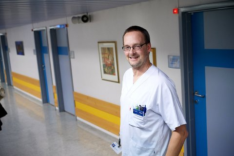 Essensielt: – Tilgang til helikopterlandingsplass er essenielt for rask og effektiv helsehjelp for sykehusene i nordre del av Trøndelag sier Mathis Heibert, nestleder i Nord-Trøndelag legeforening.