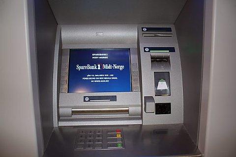 minibank sparebank1 FOTO: MARI VALEN HØIHJELLE